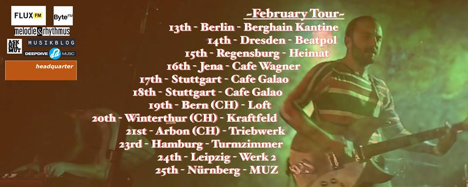 Tourdaten von Junior und Town of Saints